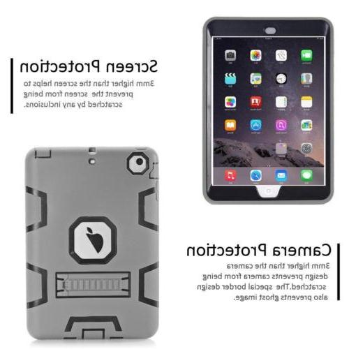 Military Shockproof Rubber Case iPad