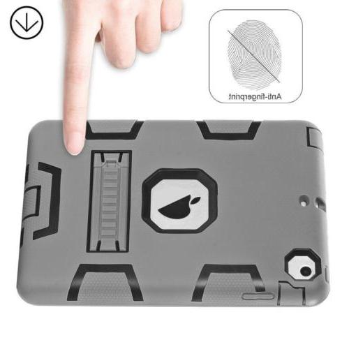 Military Heavy Duty Rubber With Hard Case Cover iPad