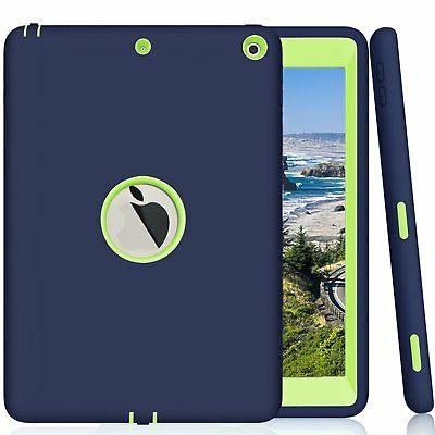 NEW 5th Generation iPad 9.7 Case Protector Shield Stand Fits