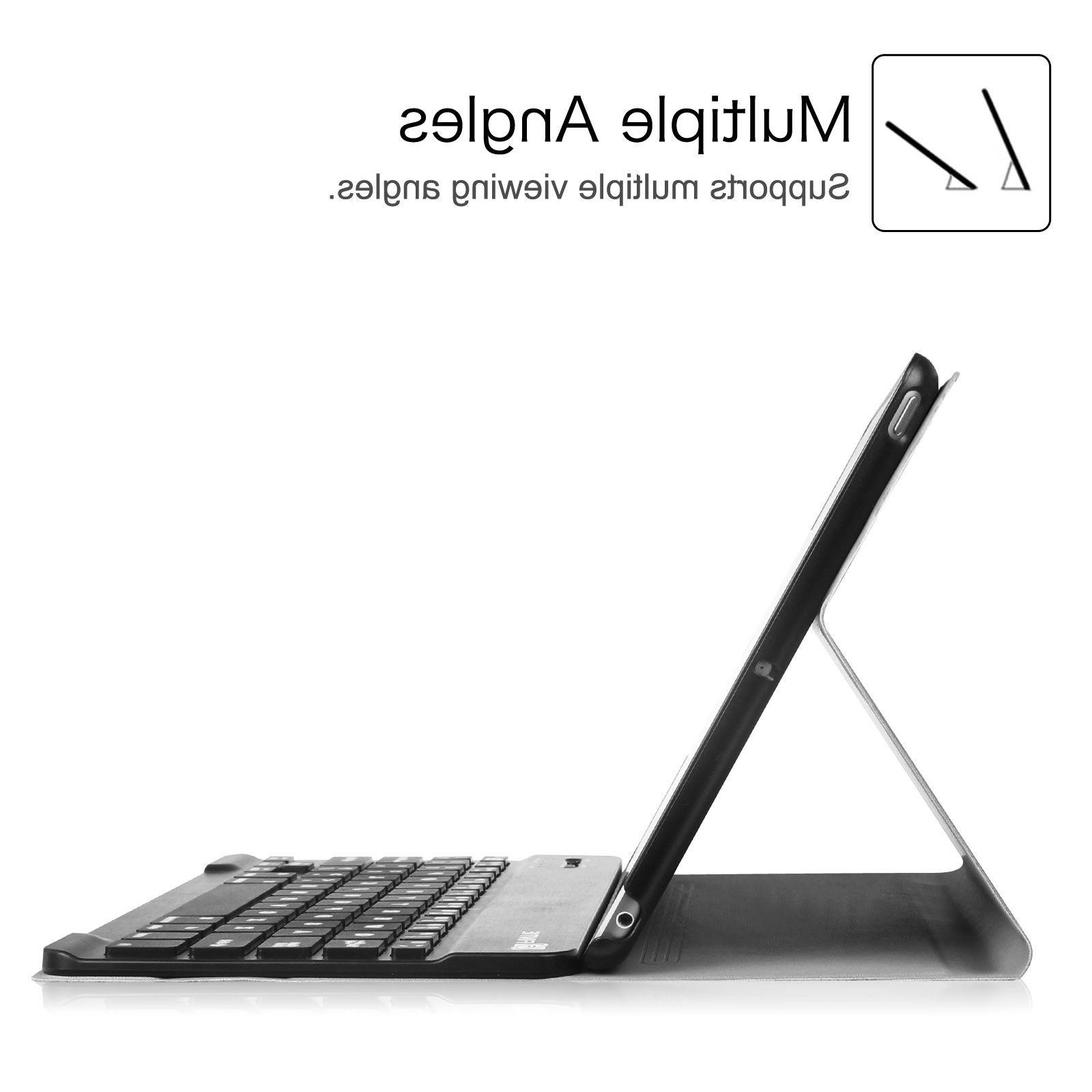 For 9.7 inch 2017 Tablet Stand w/ Keyboard