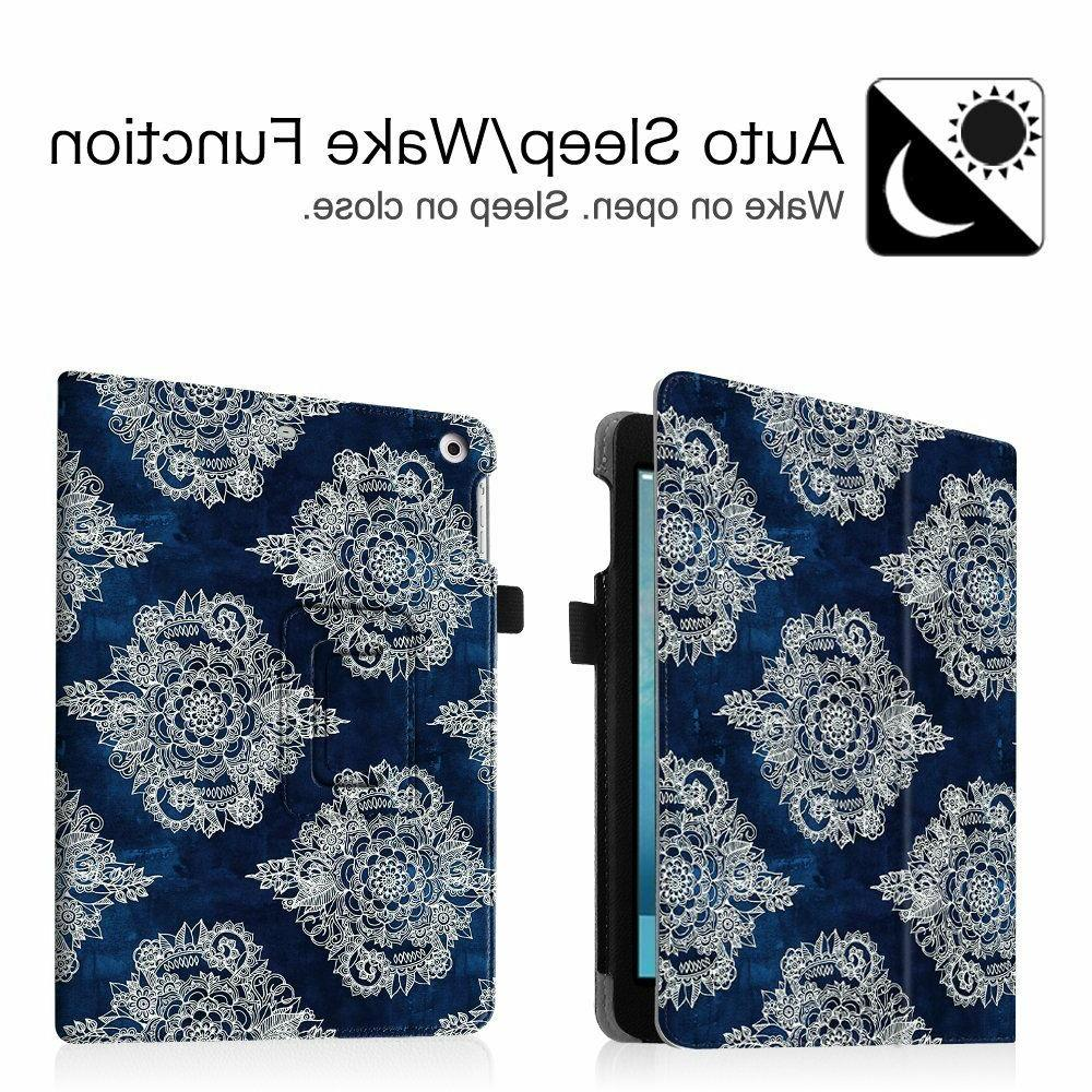 Case For 6th 2018/2017 iPad Air 1/2 Leather Stand