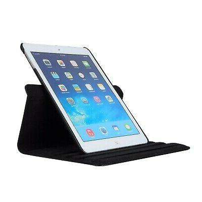 New iPad 9.7 Case AiSMei Rotating Stand Cover...