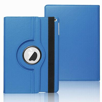 For iPad 9.7 2018 6th Rotating Flip Case