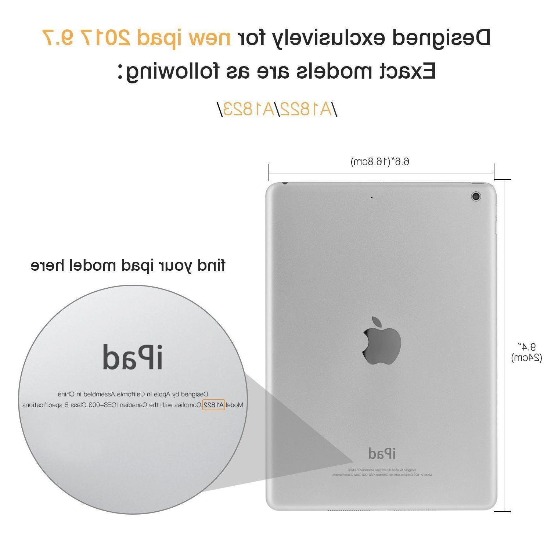 iPad 2017 9.7 Cover w/ Screen