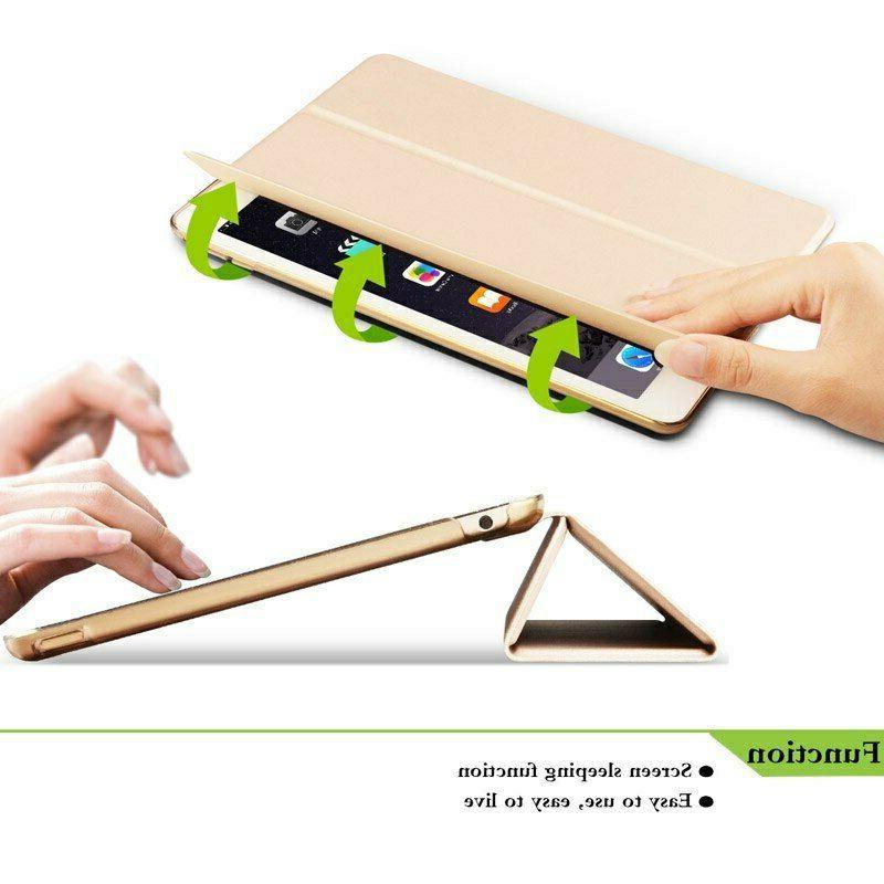Smart Magnetic Book Case Cover Apple Air Mini 2 3 4 5