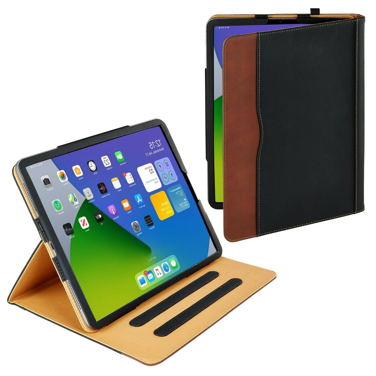 New Soft Leather Wallet iPad Smart Cover Sleep Wake Case Sta