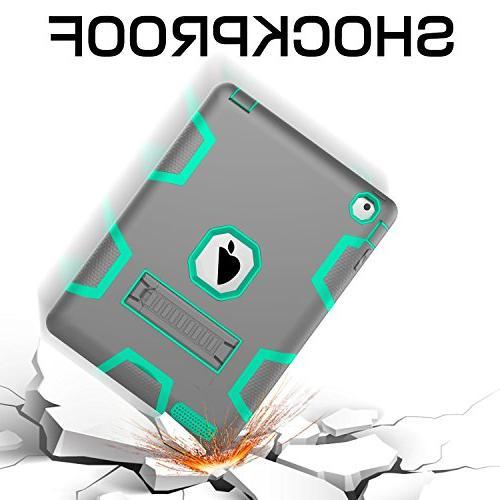 Topsky NTECeaq Body Protective Case iPad 3, 4 Grey/Green