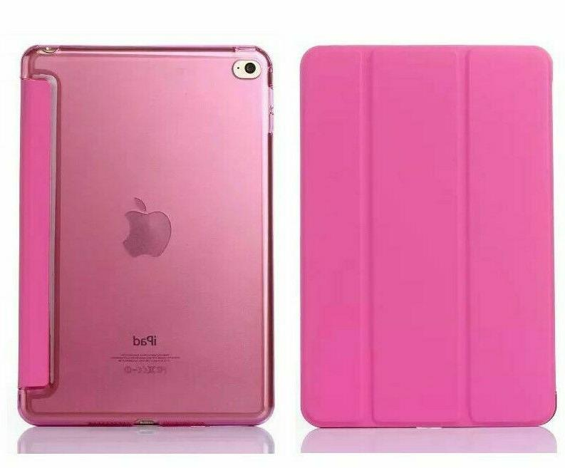Pu Case Stand For Apple iPad Generation 2018 &
