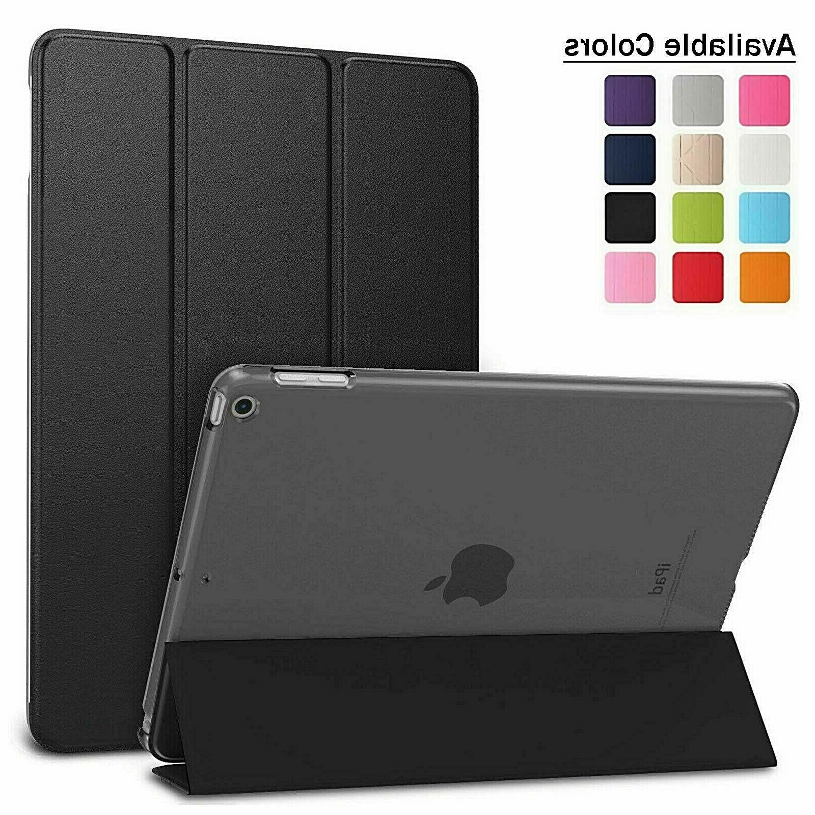 pu leather smart ipad case cover stand