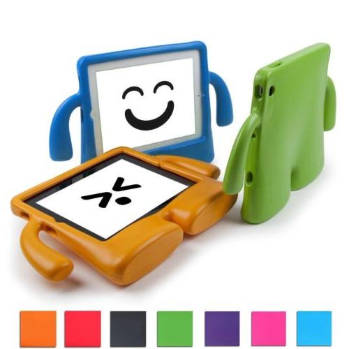 Safety Kids Case Cover For iPad Air 1 2 Tablet Screen Protec