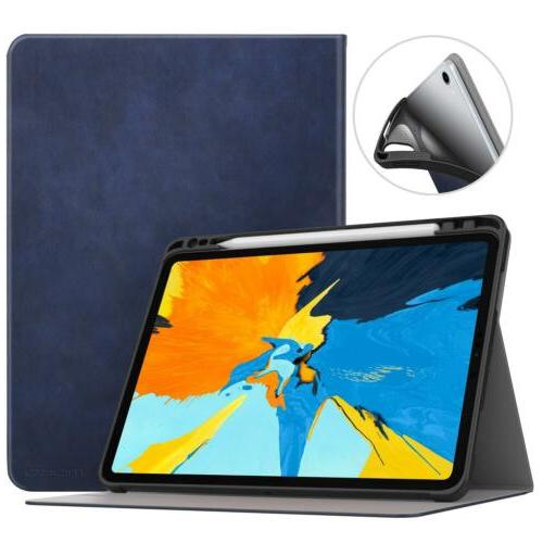 MoKo Shock Proof Stand Folio Cover Pencil Holder for iPad Pro