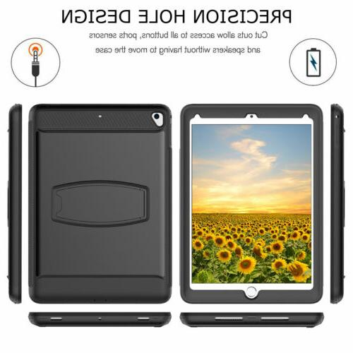 Shockproof Case + Protector For iPad 9.7 6th 2018