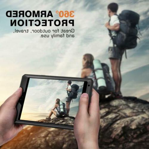 MoKo Shockproof Full Rugged Hybrid Cover for 5th 2019