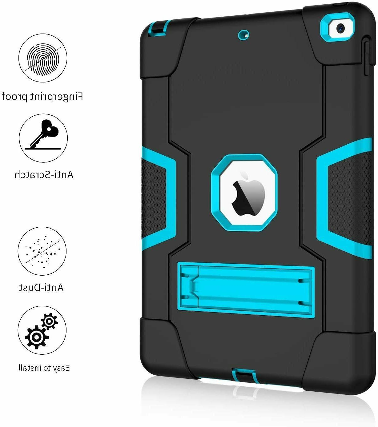 Shockproof Duty Hard Case Stand Cover iPad Gen Air Mini 4