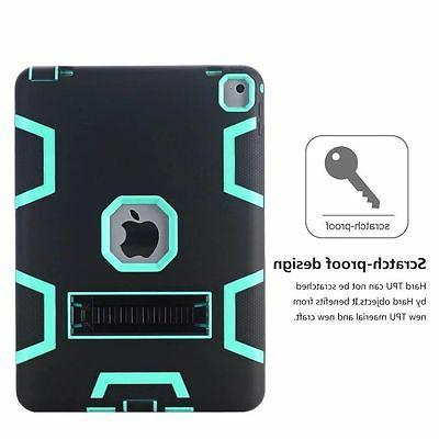 Shockproof Heavy Hard Stand Case Cover For +Film