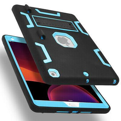 """Heavy Case Stand Cover for iPad Mini 1/2/3/4/5/Air, 10.2"""" Gen 2019"""