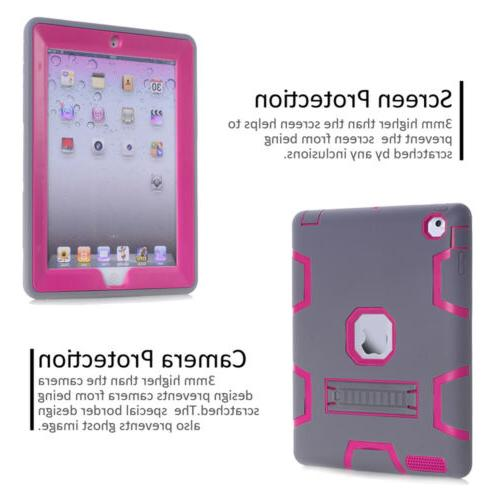Shockproof Heavy With Stand Case 2 iPad