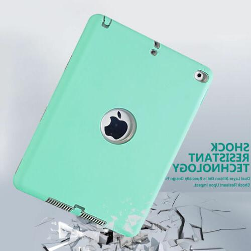 Shockproof Heavy Duty Rugged Tablet Cover Case iPad 1 3 7th Air