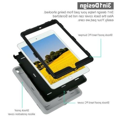 Shockproof Heavy Duty Tablet For iPad 3 7th