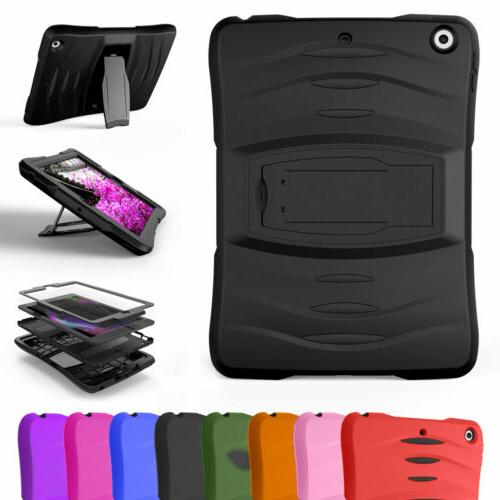 shockproof hybrid case cover for apple ipad