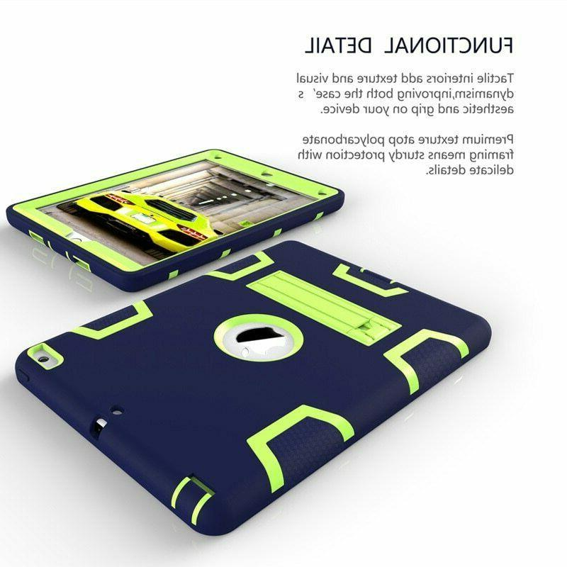 Shockproof Rubber Armor Hard Stand Cover For Apple Mini 2 3 4 5