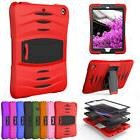 Shockproof Rubber Case with Screen Protector For Apple iPad