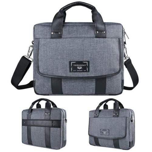 "VanGoddy Shoulder Messenger Travel School Bag For 10.1""-17.3"