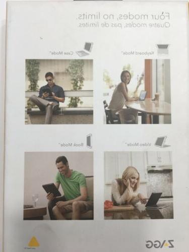 ZAGG Book Tablet Keyboard & Detachable Case for
