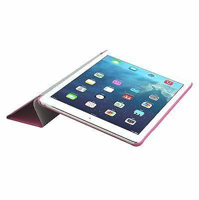 Cirago Slim-Fit PU Case Kick for Apple iPad Air P.Pink