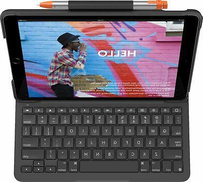 slim folio keyboard case for apple ipad