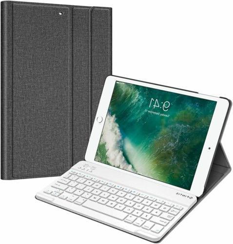 slim folio leather smart cover case stand