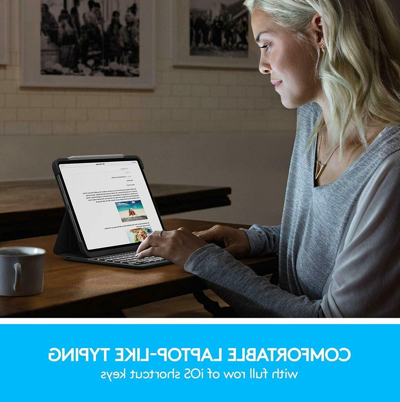 Logitech Slim Folio Pro Case iPad Stand