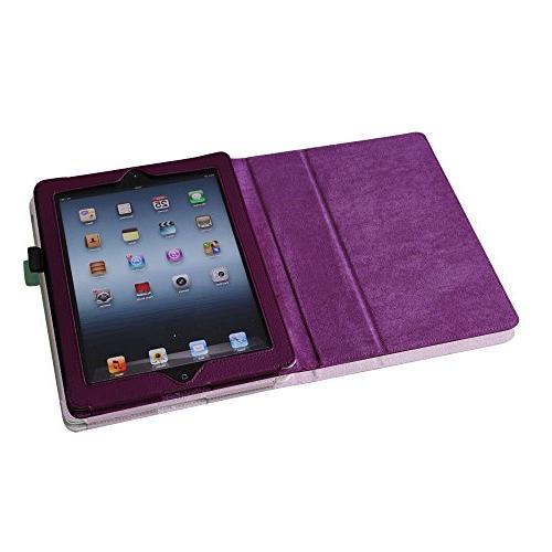 Elegani Slim Case Cover iPad 2/3/4 the iPad 3 ipad 4 for feature