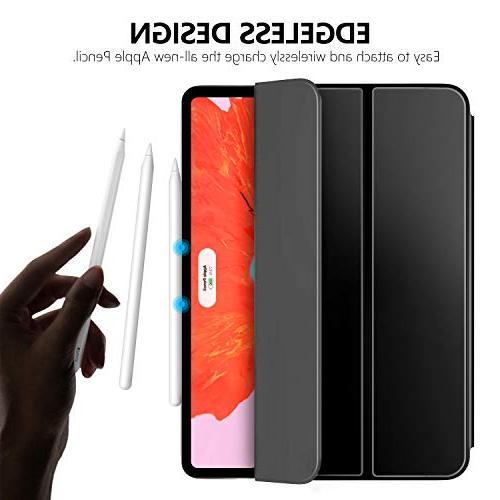 MoKo Fit iPad Pro 2018 - Smart Shell Strong Magnetic Auto Wake/Sleep Black