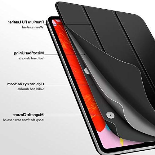MoKo Folio Case Fit iPad 2018 Slim Smart Cover, Strong Magnetic Adsorption, Auto Wake/Sleep