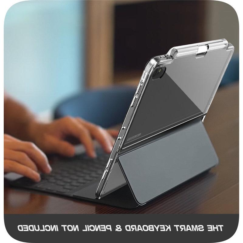Smart & Pencil are INCLUDED! <font><b>iPad</b></font> Pro 12.9 2018 Holder,Compatible Keyboard