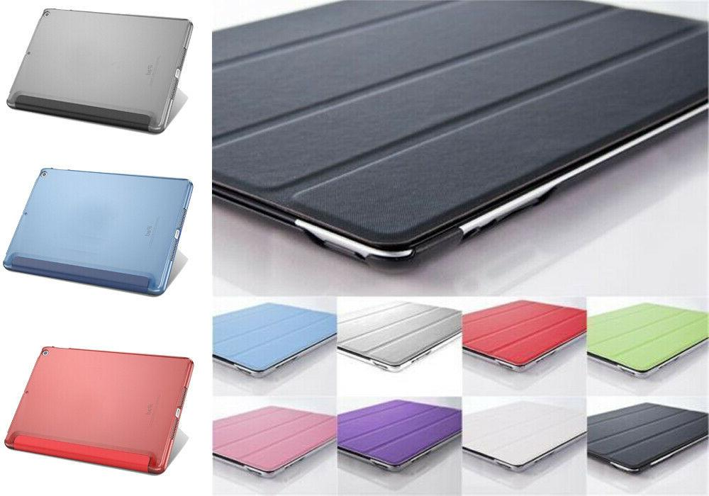 smart magnetic leather case cover for apple