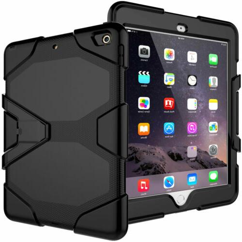 Stand with Screen Protector For iPad 3 4 Air 2 Pro