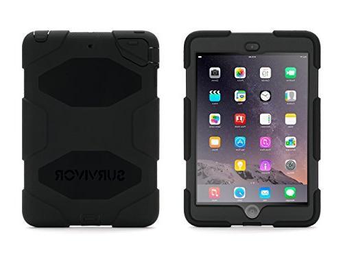 Griffin Technology Survivor Case for Apple iPad mini, Black