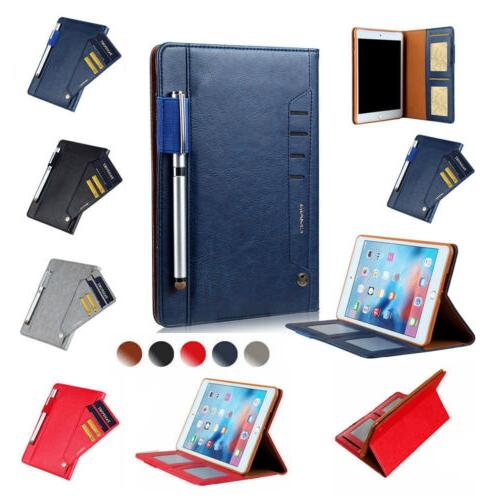 synthetic leather folio magnetic hard case cover
