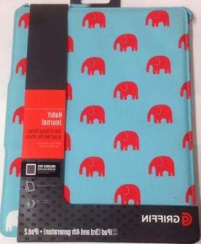 """Griffin Technology - Habit Journal Case For Ipad 2 3 4, 9.7"""""""