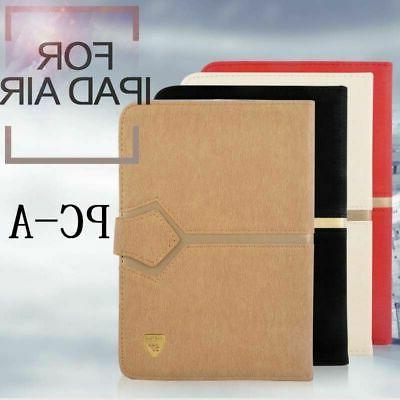 Thin Case Impact Resistant Magnetic PU Leather Smart Cover F