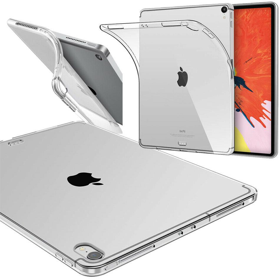 thin clear gel case cover for ipad