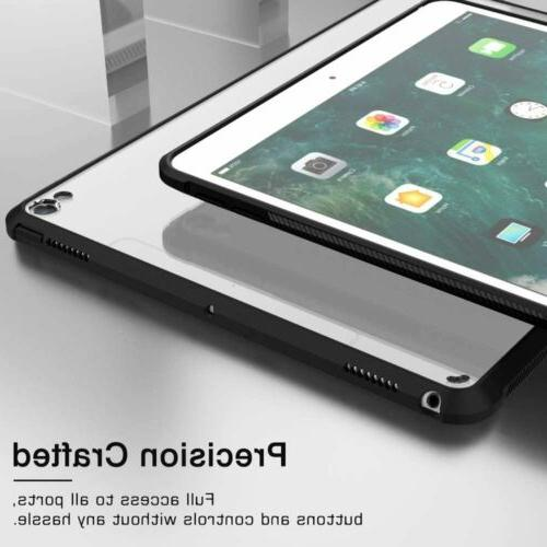 MoKo TPU Transparent PC Back Case for iPad Air 3rd