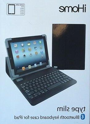 iHome Type Slim - Bluetooth  Keyboard Case For iPad Computer