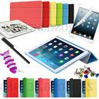 Ultra Slim Smart Cover Leather Case Stand For iPad 4 3 2 Min