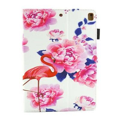 Unicorn Painted Synthetic Leather Soft Case iPad 234 Mini 123 Pro9.7 Samsung
