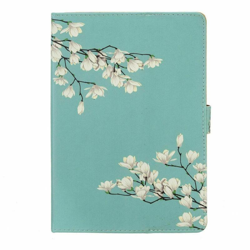 """Fr 8"""" inch iPad/Tablet Pattern Magnetic Stand Cover"""