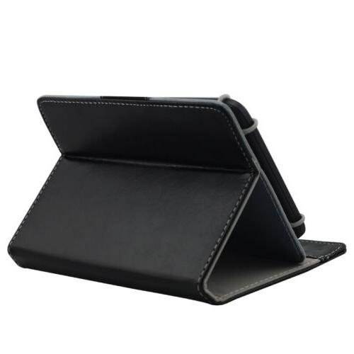 Universal Leather Cover Samsung Tab A E