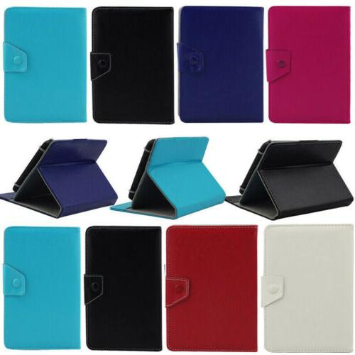 universal leather stand case cover for ipad